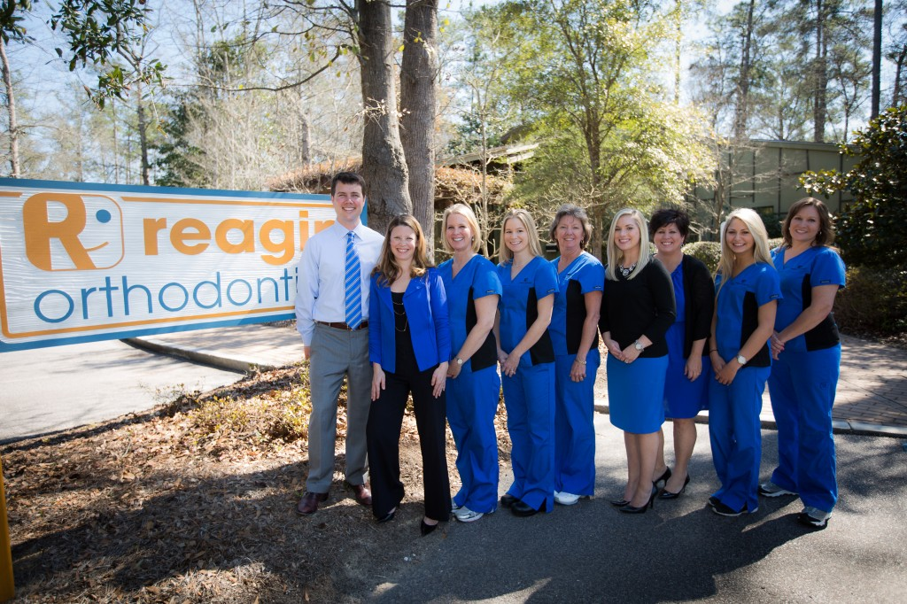 reagin orthodontics office staff