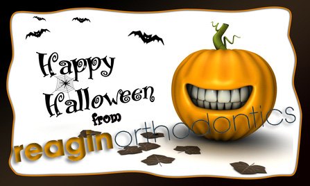 Happy Halloween Reagin Orthodontics